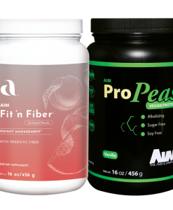 AIM Fit 'n Fiber and ProPeas